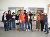 La subcomisión mixta hispano–italiana, que se encuentra en la localidad, visita las dependencias del Centro de Desarrollo Local