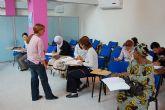 Los extranjeros aprenden castellano en Las Torres de Cotillas