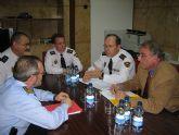 Reunión de la Mesa de Seguridad sobre el barrio de Los Rosales