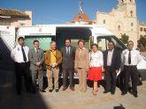 Protección Civil de San Javier dispone de una nueva ambulancia donada por Cajamurcia