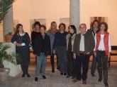 Nueve artistas lorquinos exponen sus obras en el Claustro de Bellas Artes de Almería gracias a un intercambio cultural