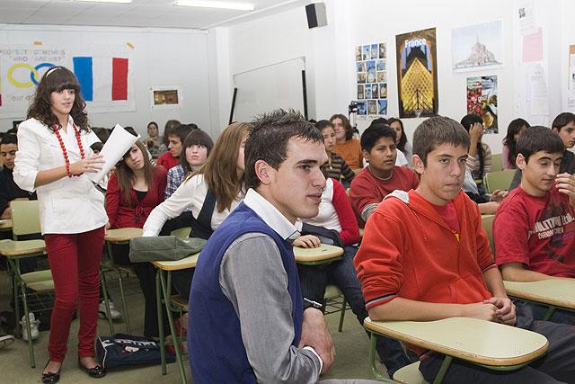 El Instituto de Enseñanza Secundaria Domingo Valdivieso celebra el Día de Francia - 1, Foto 1