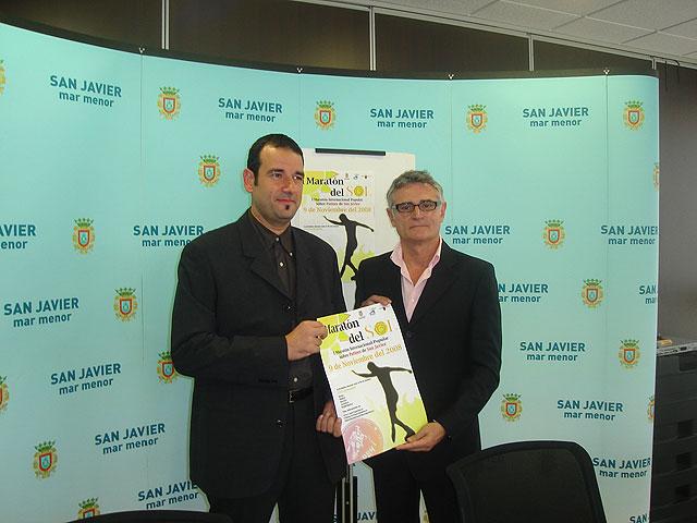 Patinadores de toda España se darán cita en San Javier del 7 al 9 de noviembre con motivo del I Maratón Popular Internacional sobre Patines - 1, Foto 1
