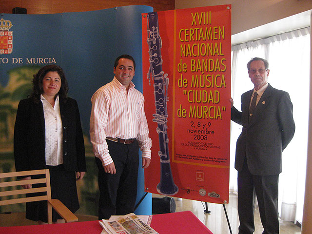 Trece bandas de música participan en el XVIII Certamen Nacional Ciudad de Murcia - 1, Foto 1