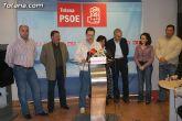 Los 7 concejales socialistas de la anterior legislatura hicieron público un comunicado