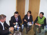 El alcalde se reúne con la nueva junta directiva del Ilustre Cabildo Superior de Procesiones de Totana