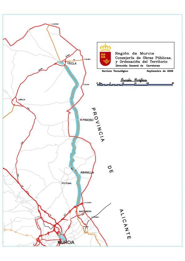 La nueva autovía Santomera-Yecla supondrá una inversión de 250 millones de euros - 1, Foto 1
