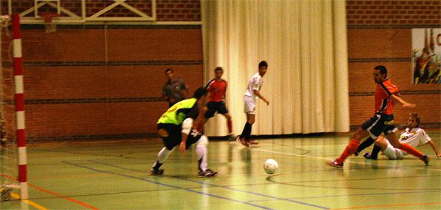Caravaca 2010 y Plásticos Romero empatan a 1 gol en el encuentro de fútbol sala que disputaron - 1, Foto 1
