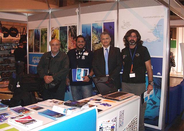 La Región de Murcia promociona su oferta de submarinismo en Birmingham - 1, Foto 1