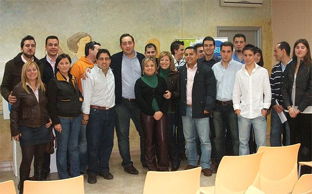 Carlos Sánchez, nuevo presidente de Nuevas Generaciones del Partido Popular de Blanca - 1, Foto 1