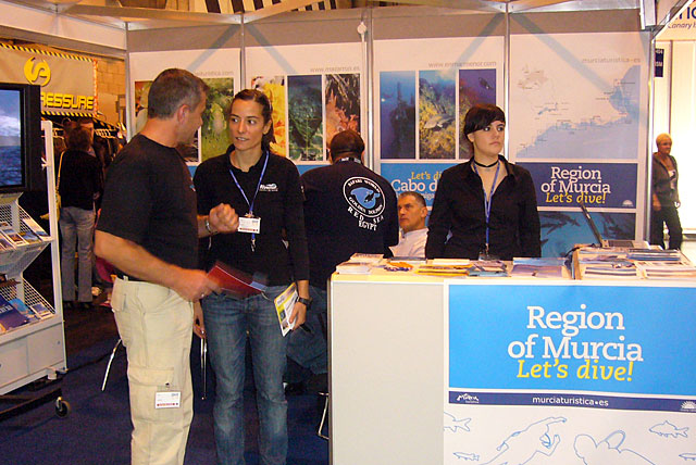 La Región de Murcia promociona su oferta de submarinismo en Birmingham - 2, Foto 2