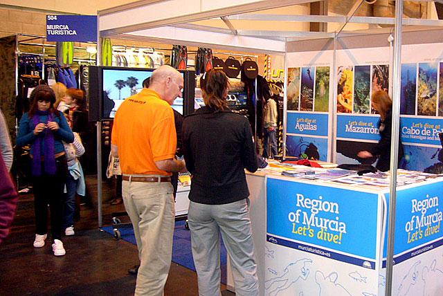 La Región de Murcia promociona su oferta de submarinismo en Birmingham - 4, Foto 4