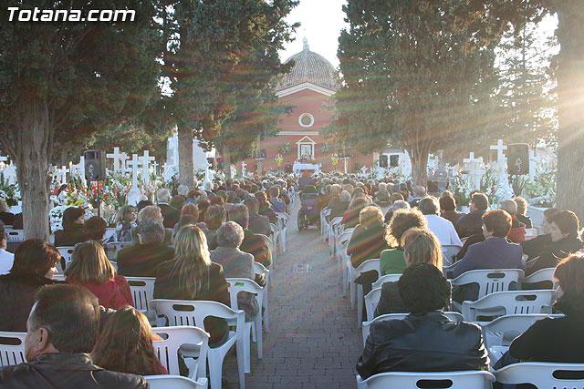 Cerca de 2.000 personas asistieron a la tradicional Misa de Ánimas, Foto 1