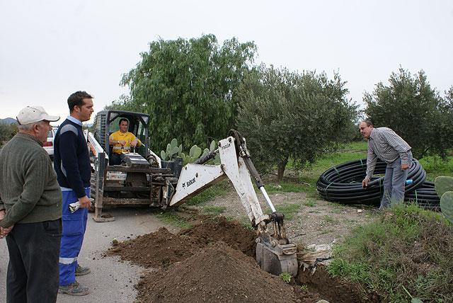 El Ayuntamiento y Aqualia finalizan las obras de sustitución e instalación de la nueva red de abastecimiento que dotará de agua potable a más de 200 vecinos - 1, Foto 1
