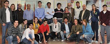 Los campeones olímpicos Craviotto y Pérez Rial ofrecieron una conferencia en la Facultad de Ciencias del Deporte