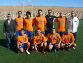 El equipo Los Pachuchos se coloca como lider en solitario de la liga de futbol aficionado Juega Limpio
