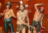 Cultura restaura el grupo escultórico procesional de La Flagelación