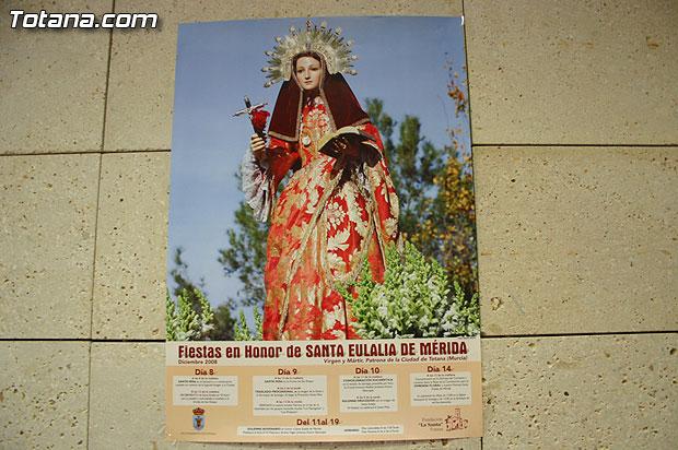 La Fundación La Santa pretende implicar a las asociaciones del municipio en el Novenario en honor a Santa Eulalia con motivo de sus fiestas patronales, Foto 2