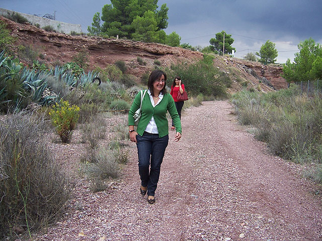 Finalizan las obras de acondicionamiento del itinerario de peregrinaje y senderismo de Totana a La Santa, Foto 3