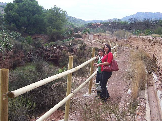Finalizan las obras de acondicionamiento del itinerario de peregrinaje y senderismo de Totana a La Santa, Foto 4