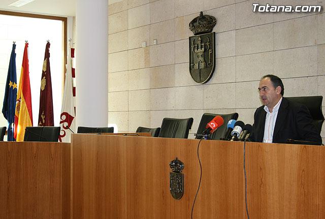 El portavoz del equipo de Gobierno informó de los acuerdos adoptados en la última Junta de Gobierno, Foto 1