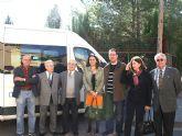 Obras Públicas subvenciona un vehículo adaptado para la Asociación de Personas Mayores de Mula