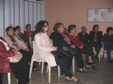 El ayuntamiento y la obra social de la CAM organizan la conferencia 'Cómo comer bien' en el Hogar del Pensionista de La Estación-El Esparragal