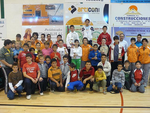 Un total de 89 escolares participaron en el Torneo de Tenis de Mesa de Deporte Escolar, Foto 1