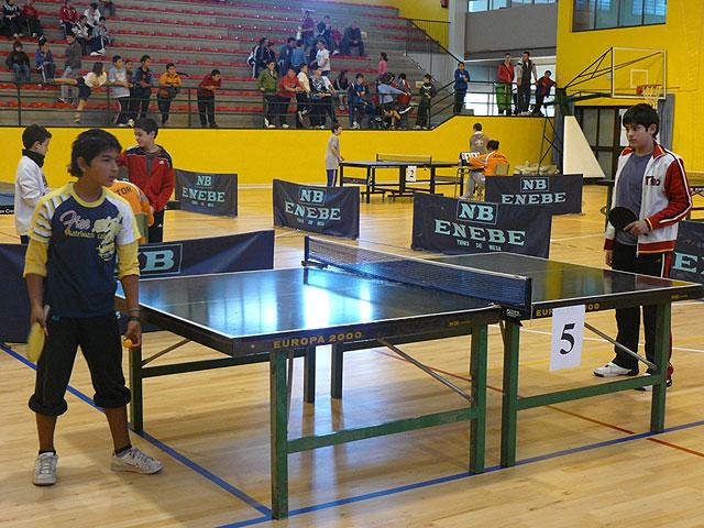 Un total de 89 escolares participaron en el Torneo de Tenis de Mesa de Deporte Escolar, Foto 4