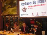 El ayuntamiento de San Javier colabora con el centro Dos Mares en la celebración del Certamen infantil de dibujo sobre Biodiversidad del Mar Menor