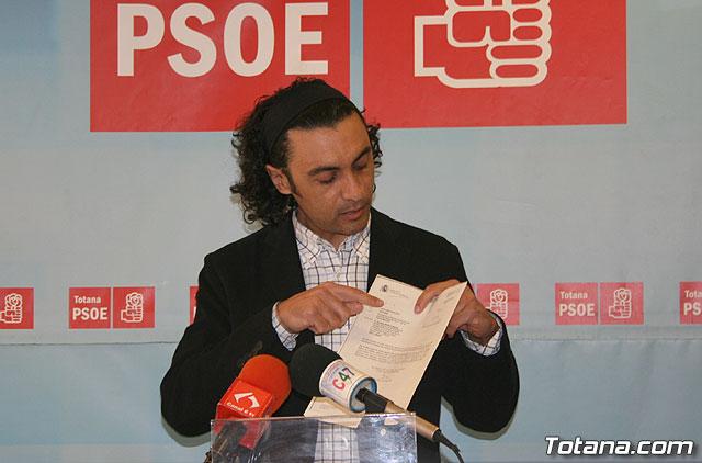 El PSOE pide al equipo de gobierno local que exija a la Comunidad Autónoma que agilicen la documentación para ejecutar la presa de la Rambla de Lébor, Foto 1