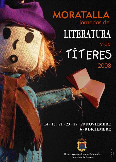 La Concejalía de Cultura del Ayuntamiento de Moratalla organiza las Jornadas de Literatura y Teatro de Títeres 2008 - 1, Foto 1