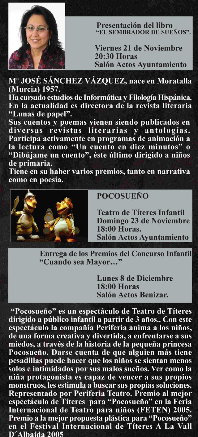 La Concejalía de Cultura del Ayuntamiento de Moratalla organiza las Jornadas de Literatura y Teatro de Títeres 2008 - 3, Foto 3