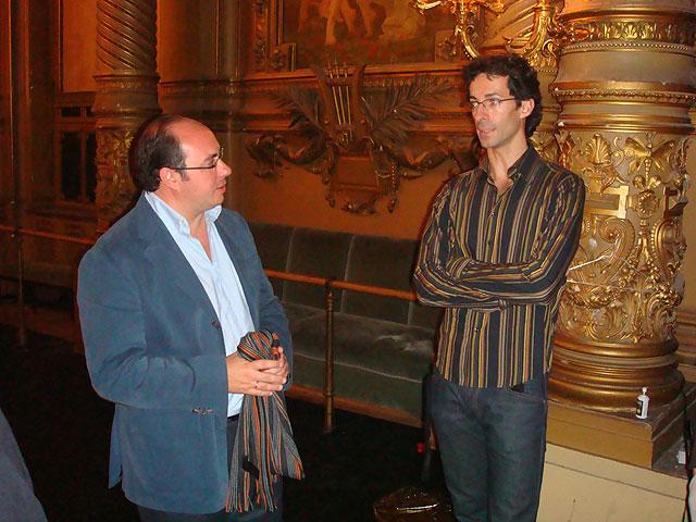 El Alcalde de Puerto Lumbreras asiste junto con el Director General de Promoción Cultural a la representación de la obra dirigida por José Martínez en París - 2, Foto 2