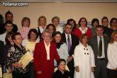 """El alcalde de Totana es homenajeado por su labor como voluntario en la clausura del """"IX Encuentro de Voluntariado Totanero"""""""