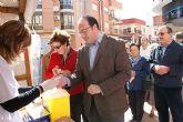 El alcalde de Puerto Lumbreras y la concejal de Sanidad participan en las actividades organizadas con motivo del Día Mundial de la Diabetes.