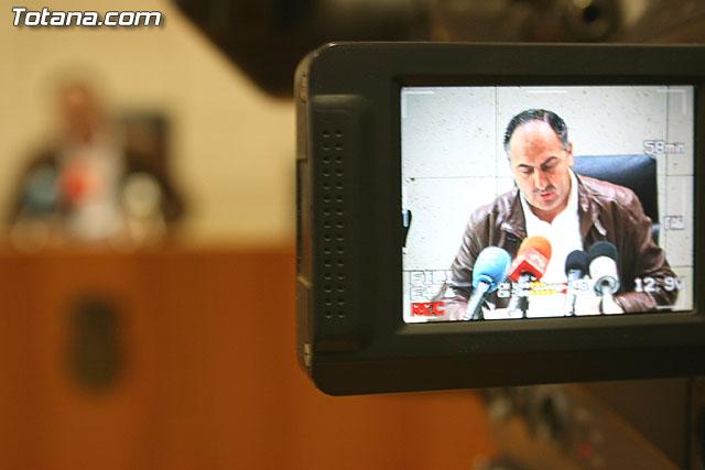 Ruenda de prensa del portavoz del equipo de gobierno local, Foto 2