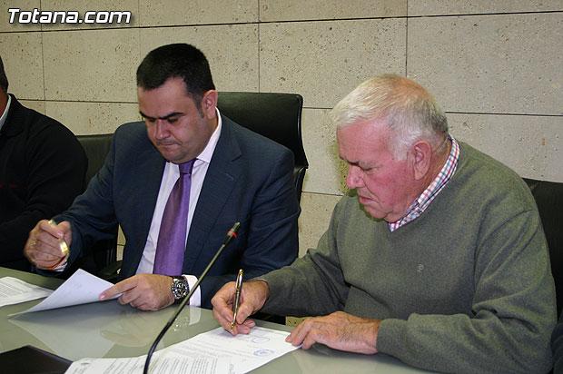El Ayuntamiento y COAG-IR firman un convenio de colaboración, Foto 2