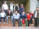 Nueve escolares de Totana participan en la primera jornada regional escolar de Tenis de Mesa