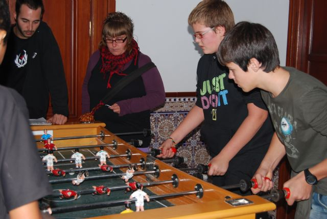 En el campeonato de futbolín organizado por REDES se entregaron varios premios, Foto 5