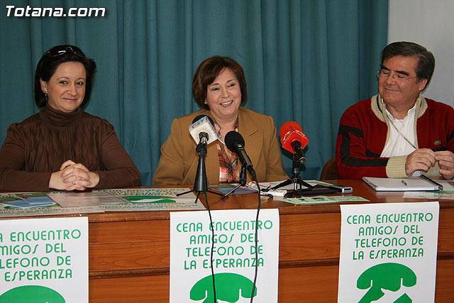Rueda de prensa de Amigos del Teléfono de la Esperanza en Totana, Foto 1
