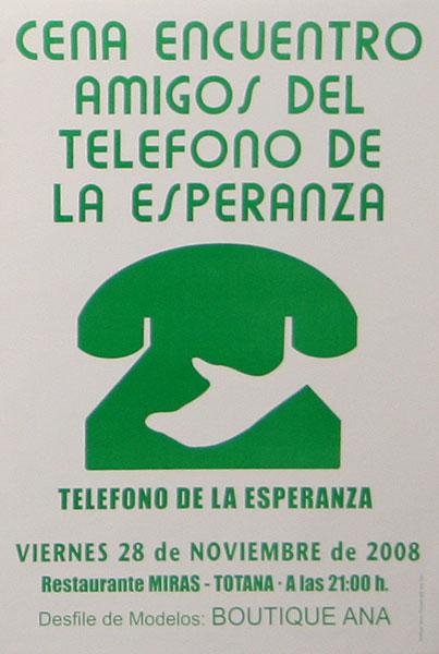 Rueda de prensa de Amigos del Teléfono de la Esperanza en Totana, Foto 2
