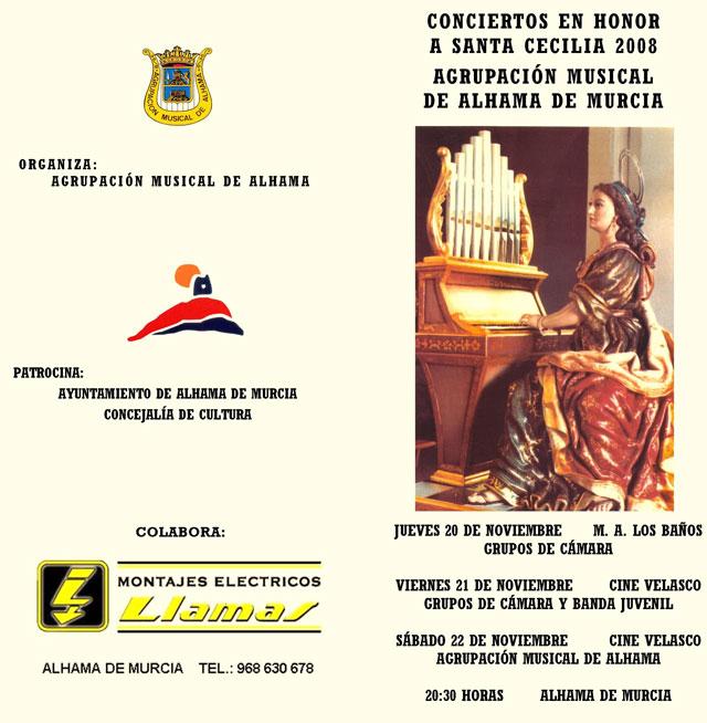 La Agrupación Musical Municipal realiza varios conciertos en honor a Santa Cecilia, Foto 1