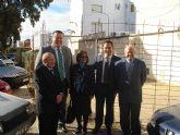 El alcalde y el consejero de Política Social visitan el Hogar de Personas Mayores