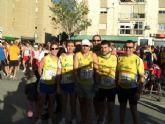 "Atletas del Club Atletismo Totana participaron en la XXI Media marat�n ""Ciudad de Lorca"""