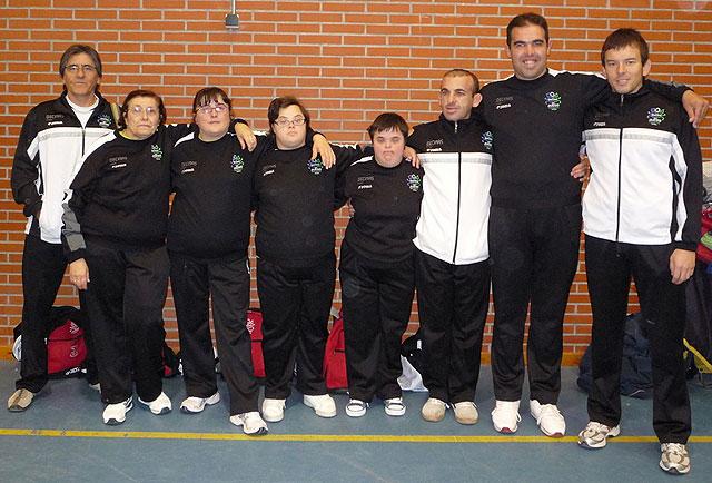 """7 alumnos del Centro Ocupacional """"José Moya"""" participan en el Campeonato Regional de Baloncesto, Foto 1"""
