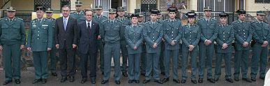 Tras la conversión del cuartel de Santomera en Puesto Principal se incorporan 19 nuevos guardias civiles