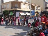 Los alumnos de AIDEMAR celebra el Día Universal de la Infancia con una marcha solidaria a favor de los niños de Níger