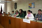 """Alumnos de varios centros educativos alzan su voz y proclaman sus derechos en el Salón de Plenos del ayuntamiento con motivo de la celebración del """"Día Internacional de los Derechos del Niño"""""""