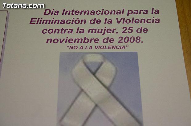 """Totana se suma a los actos del """"Día Internacional para la Eliminación de la Violencia contra la Mujer"""" el próximo martes 25 de noviembre, Foto 2"""